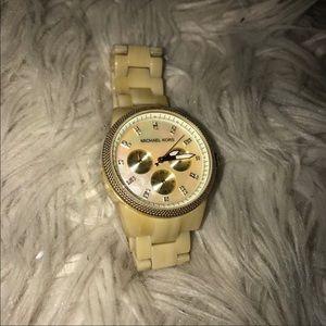 Tan Marble Michael Kors Watch ✨✨